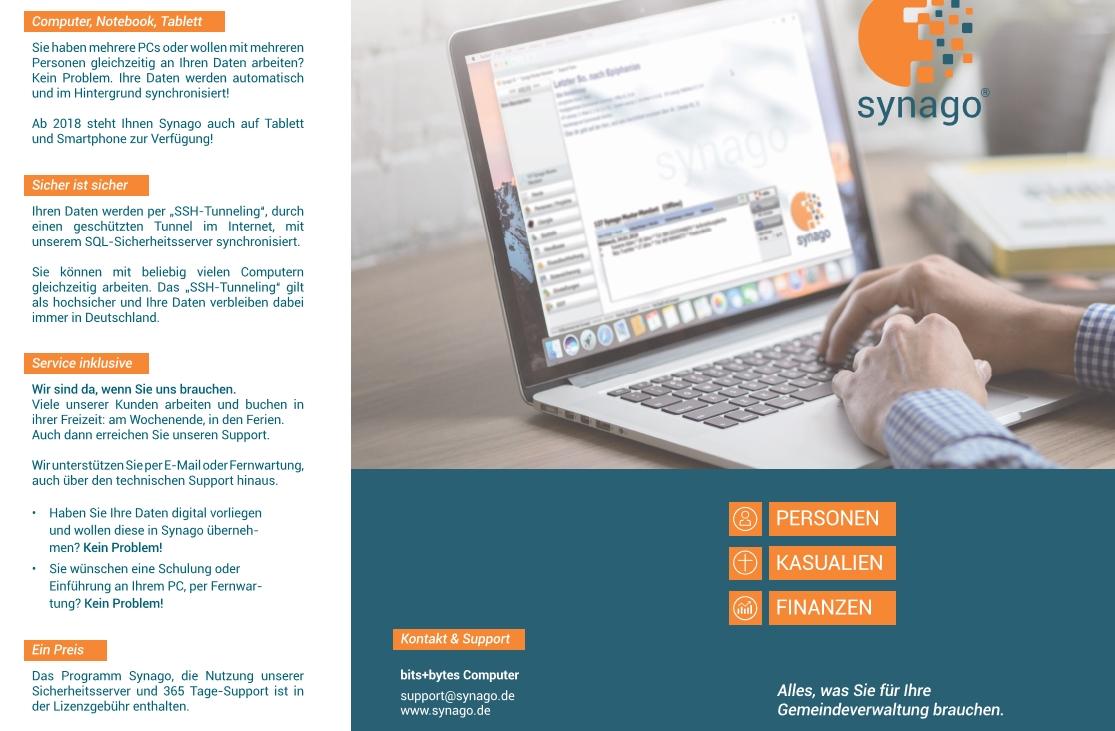 Unser Info-Flyer zur Synago-Version